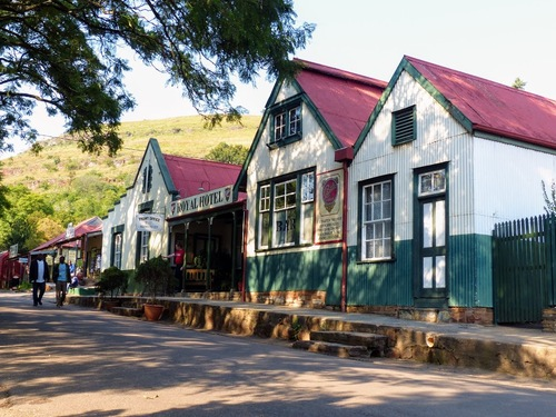 Pillgrim's rest, un ancien village d'orpailleurs reconstitué