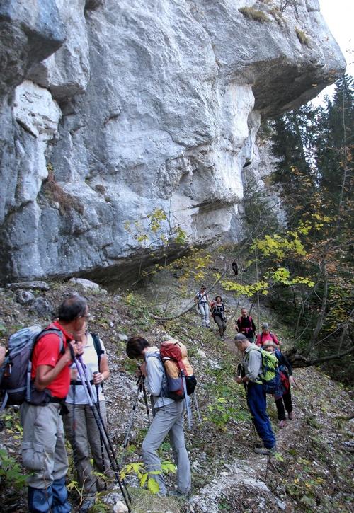 23/10/2012 - Le Col de Bellefont et la Lance Sud de Malissard