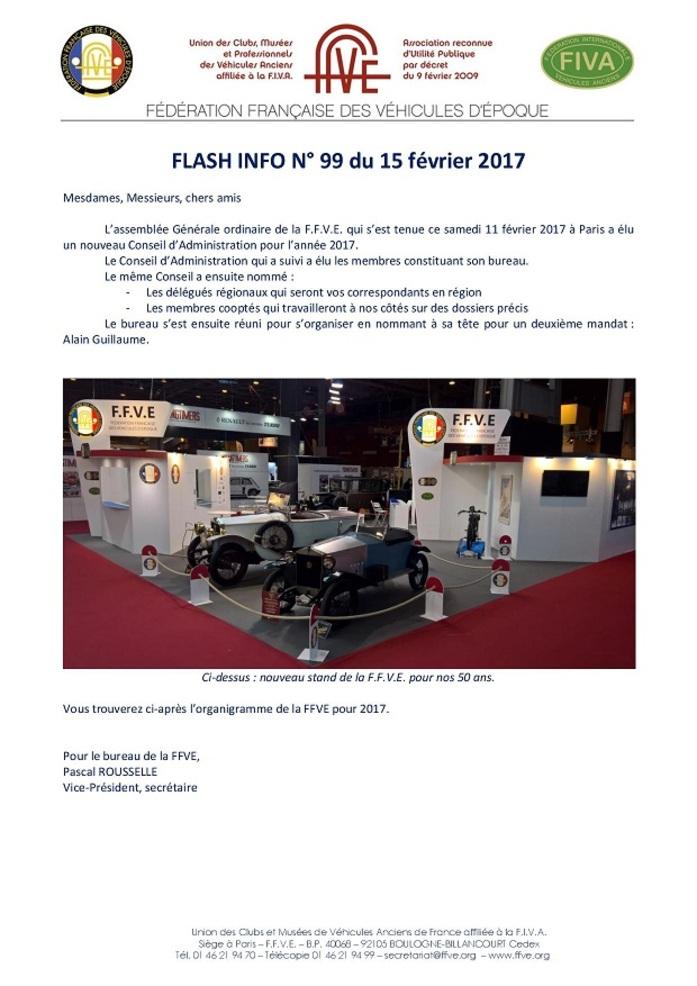 Flash Info N°99 FFVE