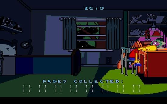 The Simpsons Bart's Nightmare sssss