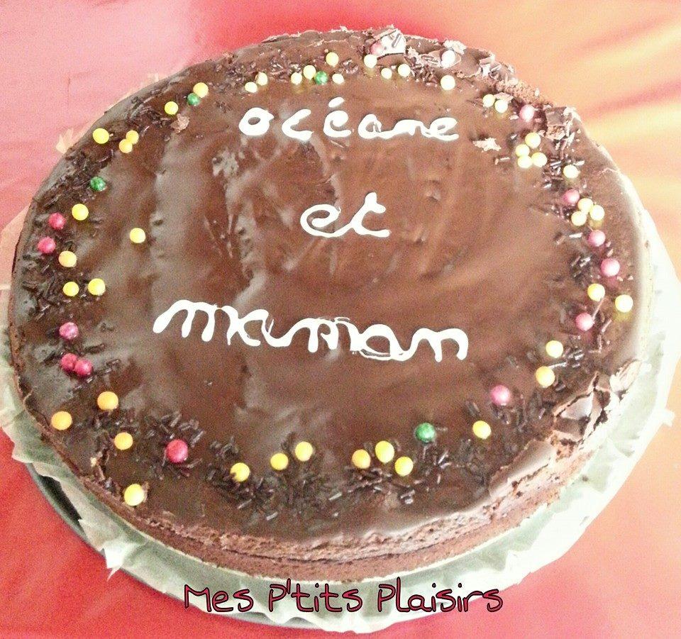 Gâteau Au Chocolat Glaçage Aux épices: Gâteau Au Chocolat Tout Simple
