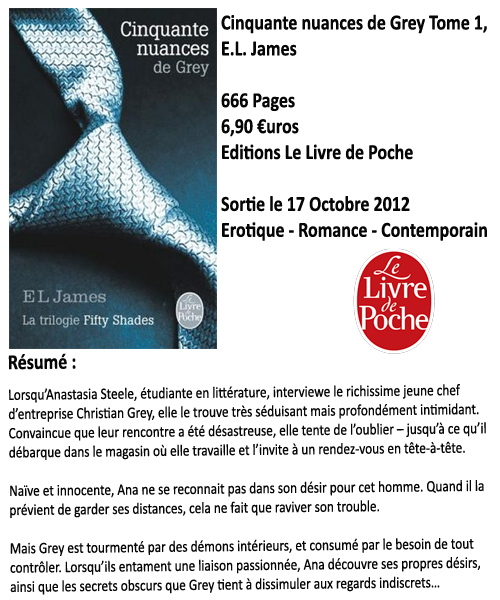Cinquante nuances de Grey, E.L. James