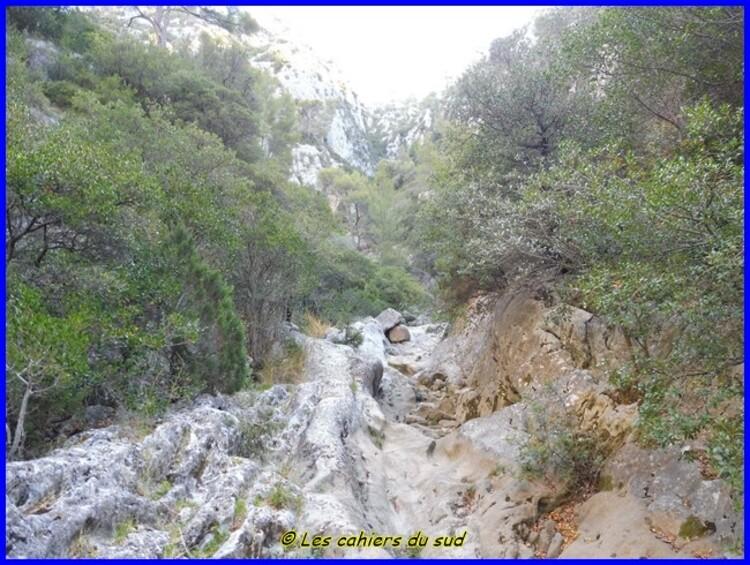 Gorges du Destel, la grotte du Berger
