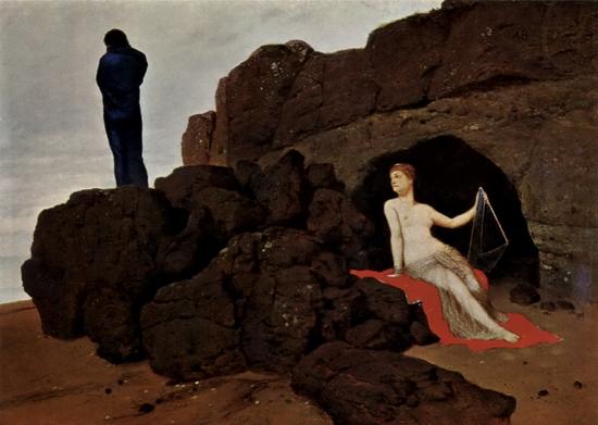 Arnold Böcklin, Ulysse et Calypso