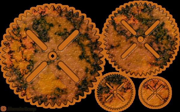 Rouages d'horlogerie pour le scrap digital pur relief - page 4