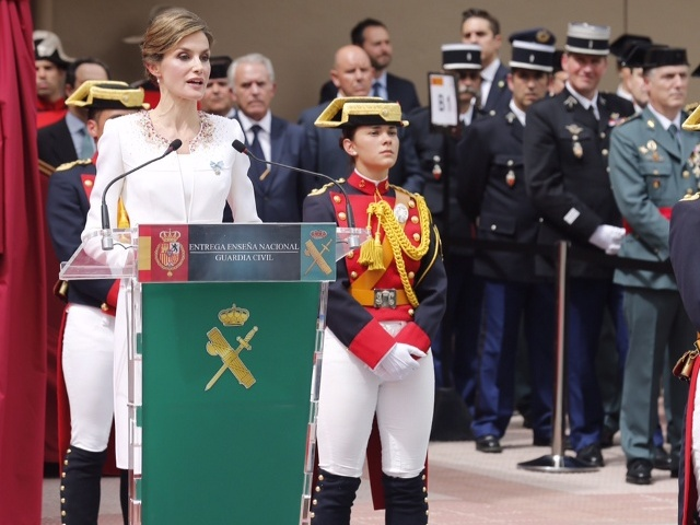 Letizia au Pays Basque