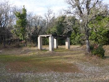 La citerne des quatre piliers