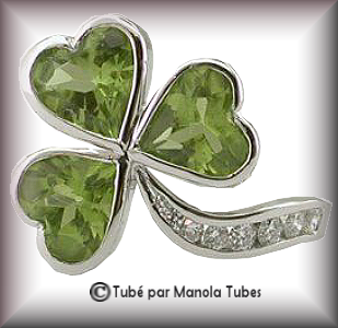 Tube bijoux St Patrick 2981