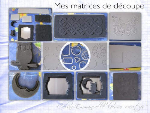 Matrices de découpe Sizzix Big Shot
