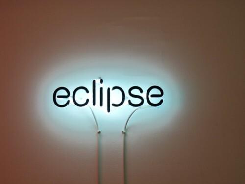 Cerith Wyn Evans Eclipse 2005 néon