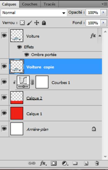Tutoriel Photoshop Ombres Portées (2)