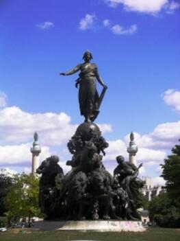 001-Triomphe de la république-Paris