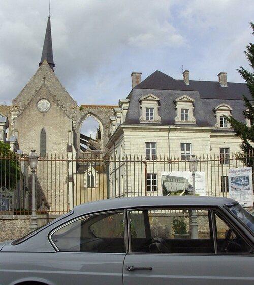 Abbaye de Pontlevoy dans le 41 - lancia flavia