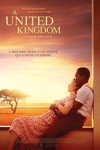 A United Kingdom : En 1947, Seretse Khama, jeune Roi du Botswana et Ruth Williams, une londonienne de 24 ans, tombent éperdument amoureux l'un de l'autre. Tout s'oppose à leur union : leurs différences, leur famille et les lois anglaises et sud-africaines. Mais Seretse et Ruth vont défier les ditkats de l'apartheid. En surmontant tous les obstacles, leur amour a changé leur pays et inspiré le monde. ... ----- ...  Origine : français Réalisation : Amma Asante Durée : 1h 51min Acteur(s) : David Oyelowo,Rosamund Pike,Tom Felton Genre : Biopic,Drame Date de sortie : 29 mars 2017(1h 51min) Année de production : 2016 Distributeur : Pathé Distribution Critiques Spectateurs : 3,7