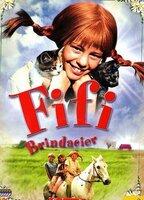 Fifi Brindacier est une drôle de petite fille rousse au visage constellé de tâches de rousseur, intrépide, joyeuse et dotée d'une force incroyable. Fille d'un pirate des mers du Sud, elle vit seule dans une grande maison en compagnie de son singe, Monsieur Dupont, et de son cheval, Oncle Alfred. Ne connaissant aucune contrainte, elle entraîne ses petits voisins, Annika et Tommy, dans des aventures extraordinaires...