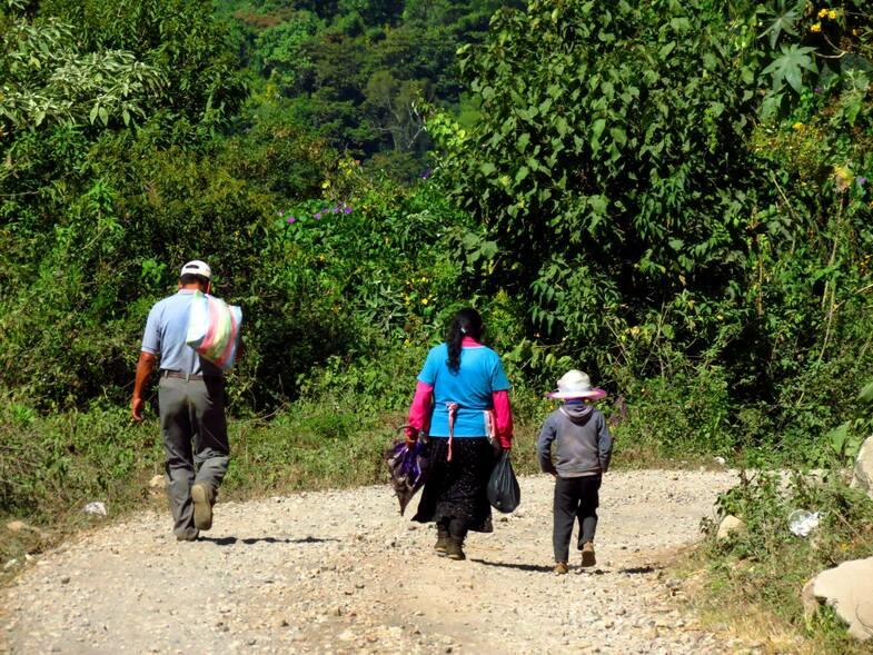 El Salvador - Guatemala (sud-est)