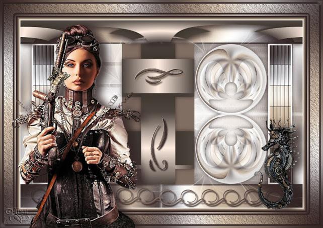 ST0004 - Tube femme steampunk