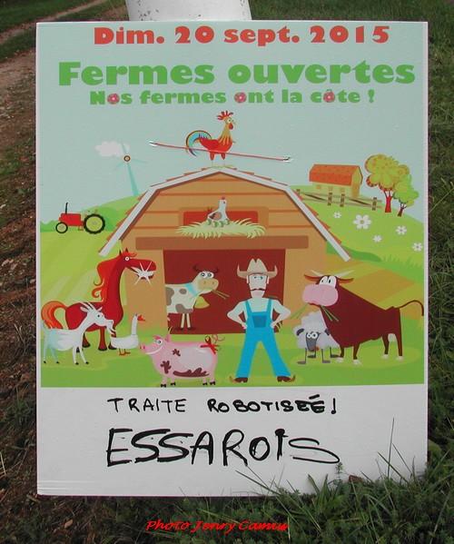 """""""Ferme ouverte"""" au G.A.E.C. Gervasoni à Essarois"""