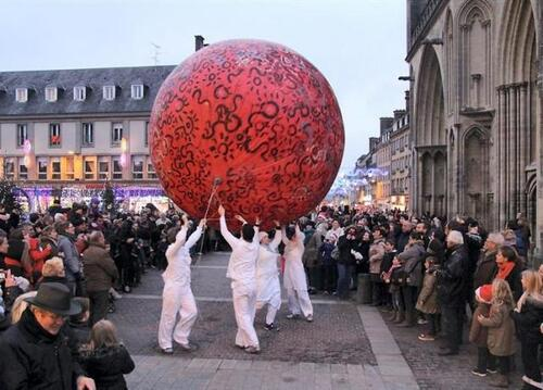 Les animations à Coutances  de Noël !!