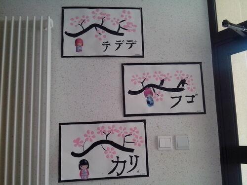 Prénoms en Japonais