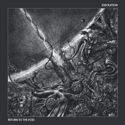 EXECRATION - Un nouvel extrait de l'album Return To The Void dévoilé