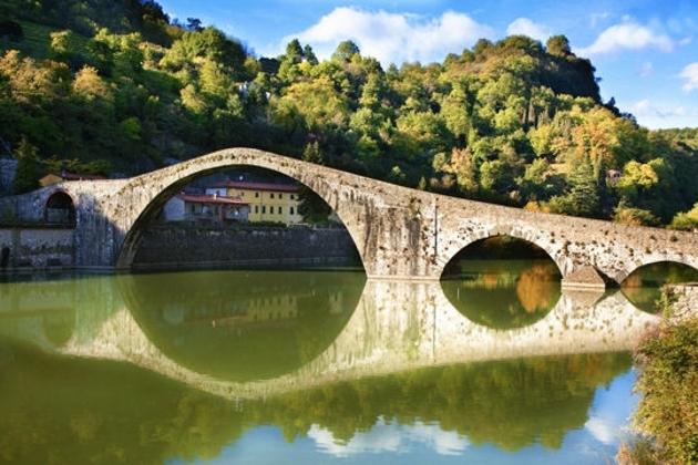 Le pont du Diable à Garfagnana