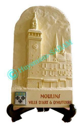 Objet souvenir du Patrimoine architectural de Moulins: le Jacquemart - Arts te sculpture: sculpteur, artisan d'art