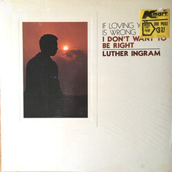 Luther Ingram - (If Loving You Is Wrong) I Don't Want To Be Right - Complete LP