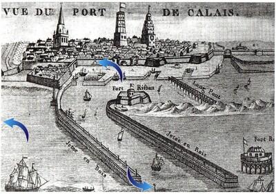 Louis Gavet & François Mareschal, sauveteurs calaisiens