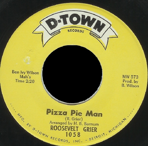 Roosevelt Grier : Pizza Pie Man