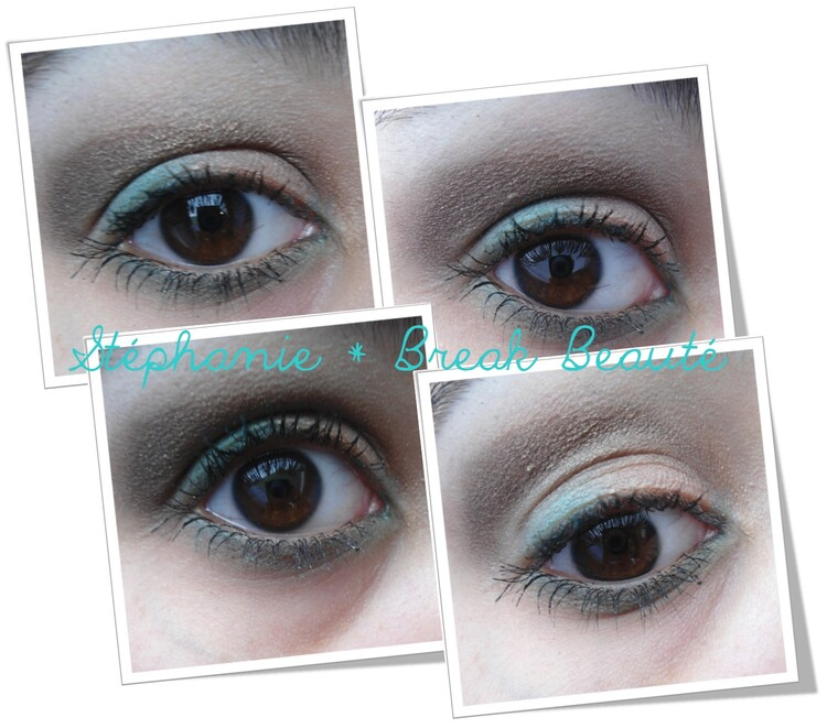 ღ Make-up | Brun & Turquoise