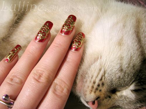 Nail art Armure