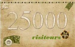 25 000 mercis !