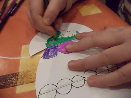 Bricolages avec les enfants