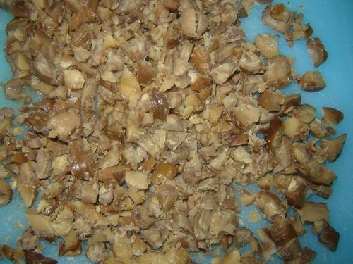 Couscous aux chataignes/Saucisses de falafels