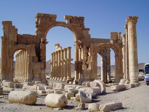 Tombeau pour Palmyre