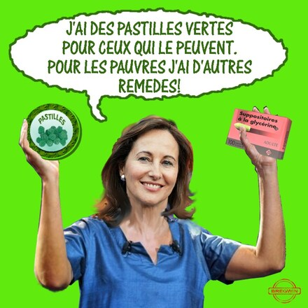 Royal-pastilles vertes