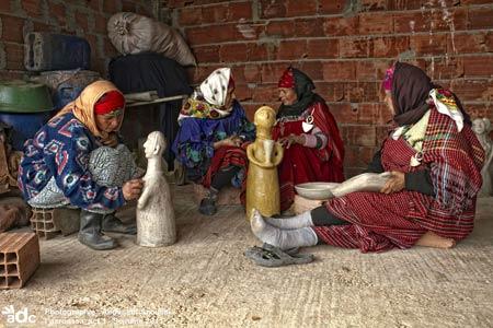 Femmes Berbères Potières