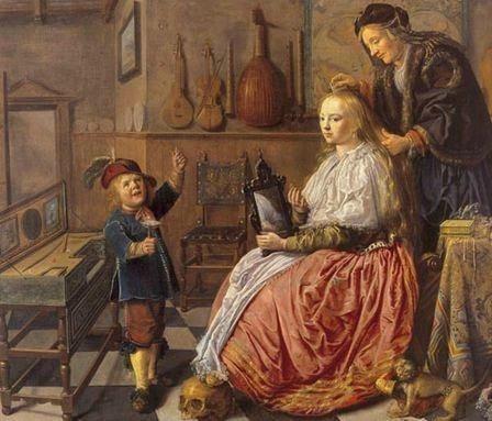 allegorie a la vanite peinture 1633 jan miense molenaer