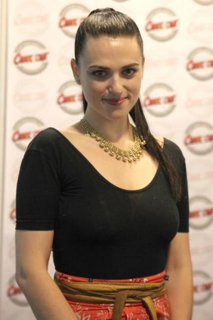 Katie au Comic Con Paris