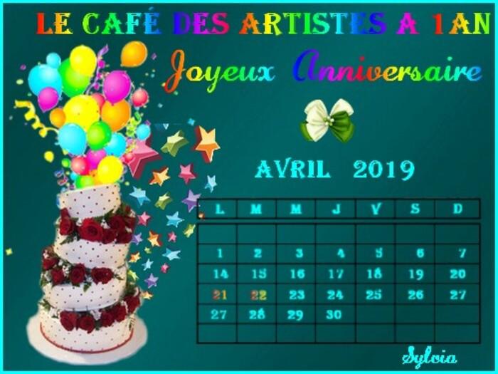 Mars 2019 - Café Artistes 1