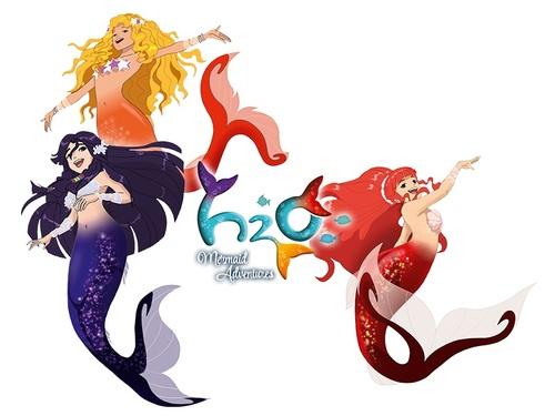 H2O les aventures de sirène