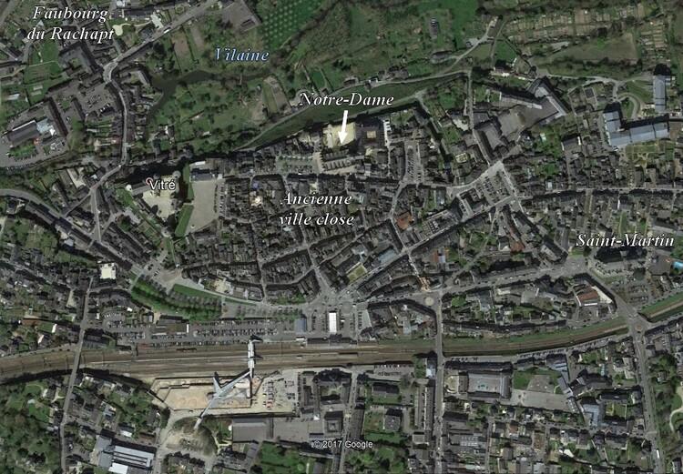 Vitré (1/4) : le centre-ville non médiéval