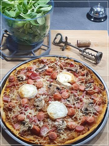 PÂTE A PIZZA ,LA VRAIE