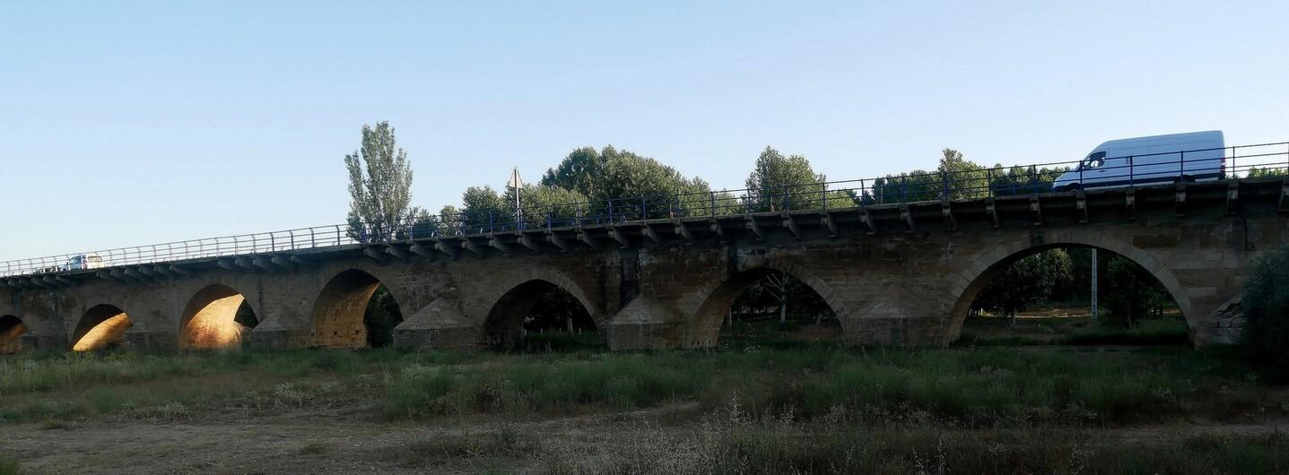 Le 2 août 2018 : de Mansilla à Leon, 20 Km