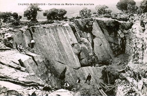 Les carrières de marbre de Caunes-Miervois