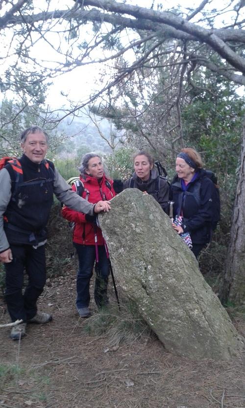 Vendémies - St Salvayre (Aude) Club de randonnée des Hautes Corbières