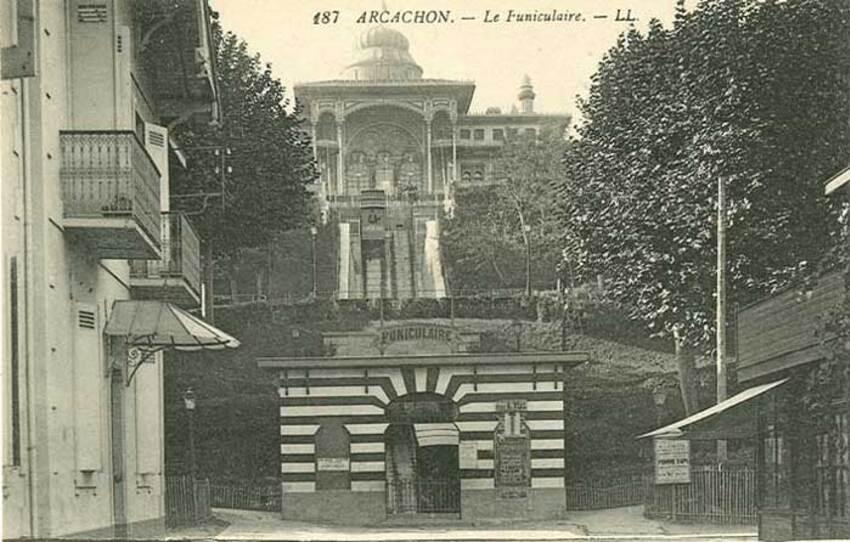 Arcachon, jardin mauresque et ville d'hiver - 2018