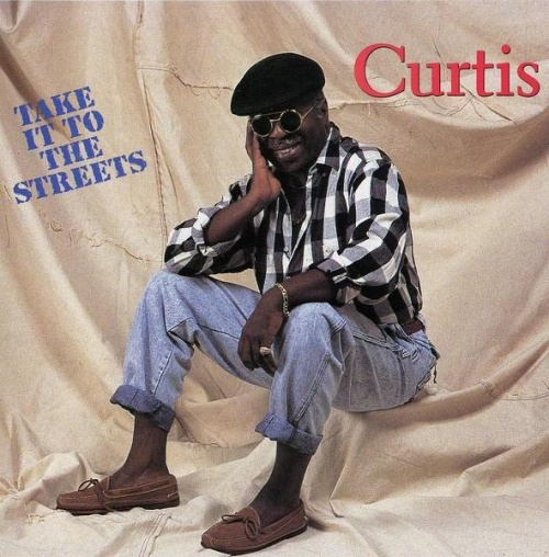 """1990 : Album """" Take It To The Streets """" Curtom Records CUR 2008 LP / CD [ US ]"""