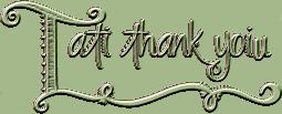 *** Tati thank you ***